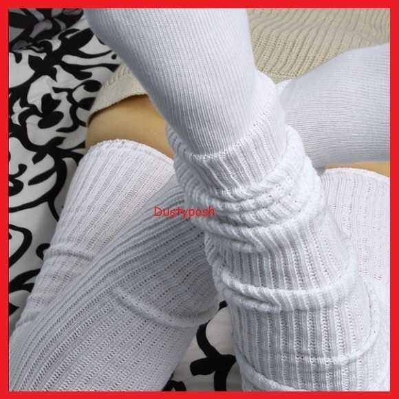 b63fc934dd2 Long loose Japanese schoolgirl socks Thigh High. NWT